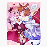 ISSICARHO Zero Astolfo Felix Apocrypha Fate Anime Traps Argyle Re, Gift for Home Decor Wall Art Print Poster