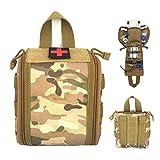 Bolsas de botiquín de primeros auxilios, bolsa médica táctica para exteriores, bolsa Molle IFAK EMT, utilidad militar, emergencia, acampada, caza, viajes, bolsas de herramientas de supervivencia