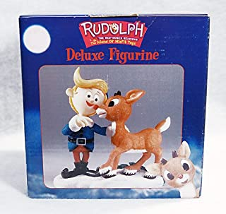 Rudolph the Red Nosed Reindeer - Rudolph and Hermey Deluxe Figurine
