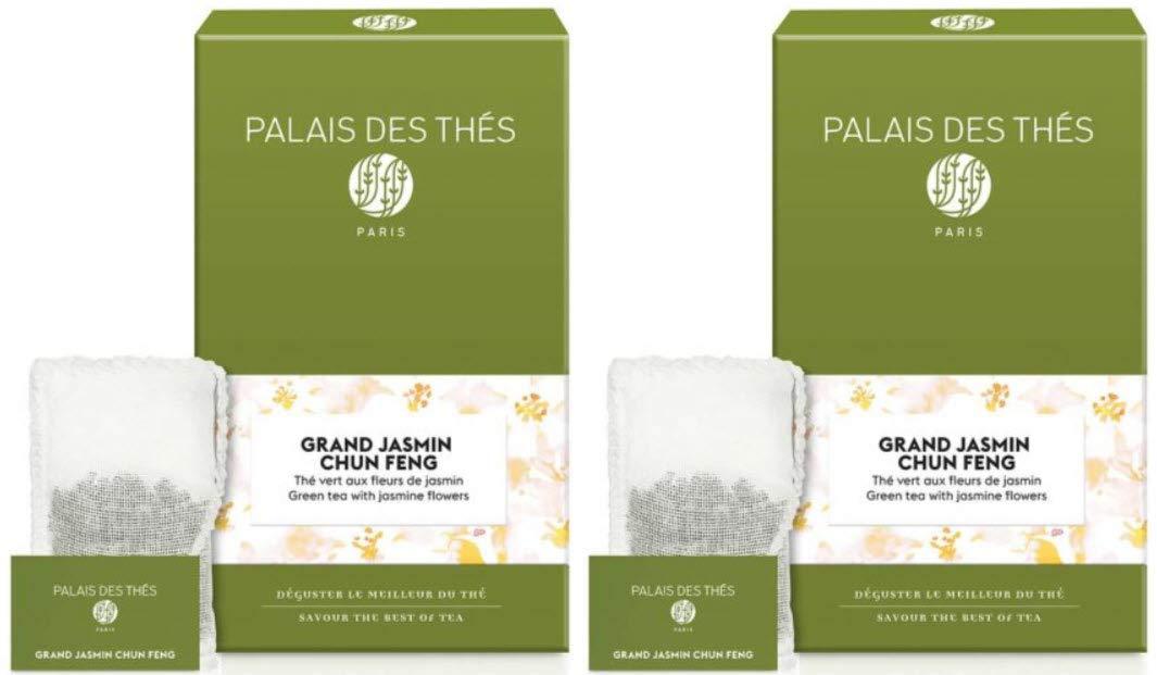 Palais des Thés Grand Jasmine Chung Feng Teabags Tea Green 出色 40 - ハイクオリティ