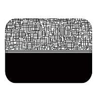 ドアマットキッチンマット キッチンマット40x60cm防塵玄関リビングルームラグ再利用可能なウォッシャブルカーペットベッドルーム廊下アンチスリップ (Color : A, Size : 400mm x 600mm)