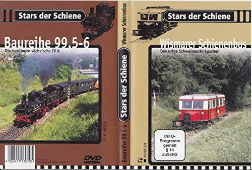 Stars der Schiene: Baureihe BR 99.5-6 - Die berühmte sächsische IV K / Wismarer Schienenbus - Das legendäre Schweineschnäuzchen