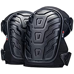 PREMIUM PROTECTION DESIGNED FOR YOUR COMFORT AND SAFETY. The soft gel core and durable EVA foam padding cushion even the more sensitive knees. The heavy-duty thick poly shield protects against cuts or scrapes on any terrain. ADJUSTABLE STRAPS FOR A F...