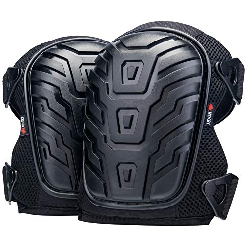 NoCry Professional Knee Pads with Heavy Duty Foam Padding and Comfortable Gel...