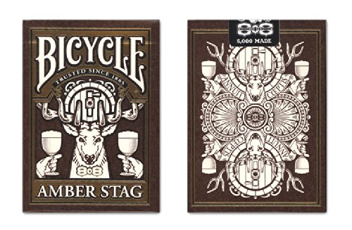 Bicycle Amber Stag Playing Cards Deck USPCC