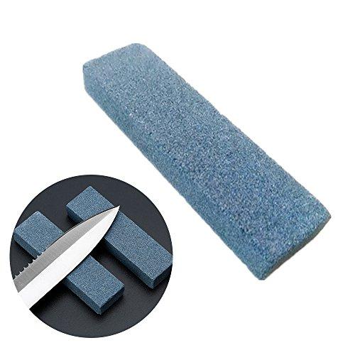 merymall Piedra de afilar -Mini Piedra de afilar de piedra de moler para caminatas al aire libre Camping Picnic Afilado Pequeñas herramientas
