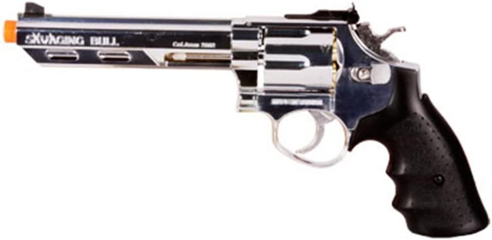 hfc hg-133 Finally popular brand 6 barrel gas revolver gun Raleigh Mall Gun Airsoft airsoft silver