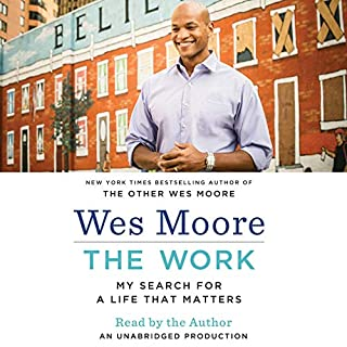 The Work audiobook cover art
