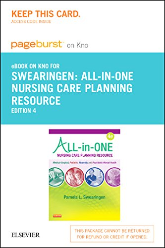 All-In-One Care Planning Resource - Elsevier eBook on Intel Education Study (Retail Access Card)