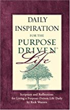 Daily Inspiration for the Purpose Driven® Life Padded HC Deluxe: Scripture and Reflections for Living a Purpose-Driven Life Daily