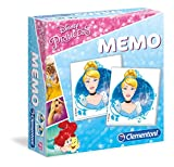 Clementoni - 18009 - Memo - Disney Princess, gioco di memoria e associazione, gioco educativo bambini 3 anni, gioco da tavolo per bambini - Made in Italy
