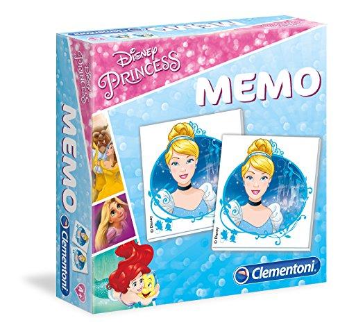 Clementoni- Princess Gioco Memo, Multicolore, 18009