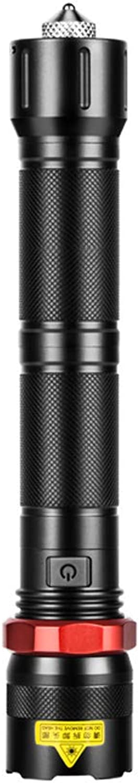 Starkes Licht-Taschenlampen-USB aufladbarer super heller Minizoom-Ausgangsim freien Long-range wasserdichtes Portable