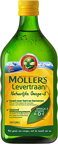 Möller's Omega-3 levertraan natuur (250 ml)