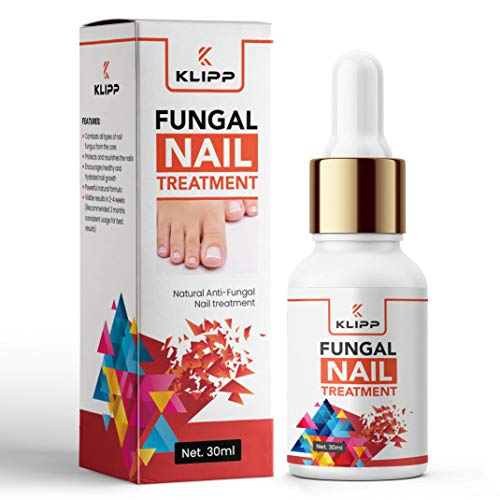 KLIPP Severe Fungal Nail Treatment for Toenails and Fingernails – Natural Toenail Fungus Treatment – Anti Fungal Nail Strengthener for Ingrown & Thick Nail Infection Treatment with Tea Tree (30ml)