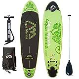 Aqua Marina Breeze Sup Inflatable Stand Up Paddle Surf Tarjeta Modelo 2016 Board+Paddle
