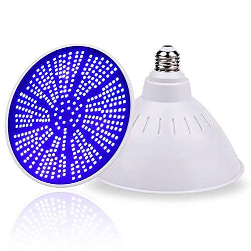 Bombilla LED de 12 V, 40 W, 4400 lúmenes, océano, azul oscuro, par56, para piscina subacuática de repuesto, para piscina