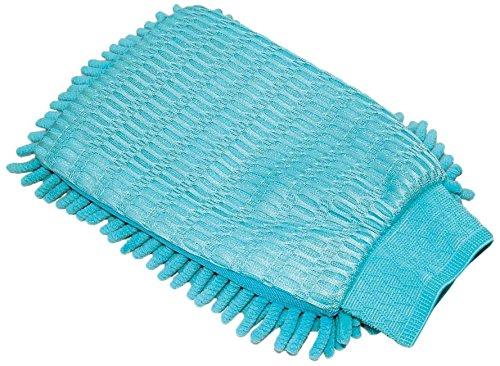 MSV 100409 Ganz Chenille Bleu, Coton, 15x23x2 cm