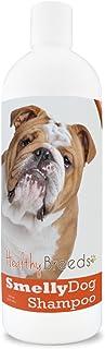 بلسم وشامبو مقاوم لرائحة عرق الكلاب كريهة الرائحة مع صودا الخبز من هيلثي برييدز - مناسب لأكثر من 200 سلالة - لا يسبب الحسا...