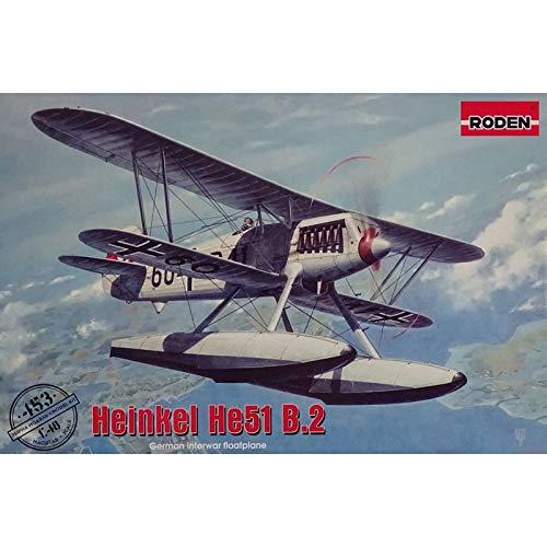 Roden 453 – Maqueta de Heinkel he51 B.2