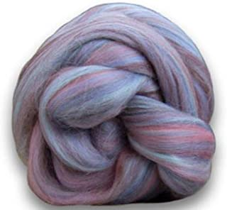 4 oz Paradise Fibers Soft & Silky Bambino Humpty Dumpty - 85% 23 Micron Solid Color Merino Wool and 15% Dyed Bamboo Blend