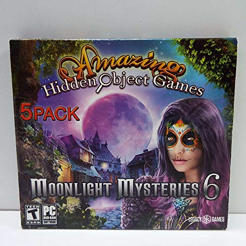 Legacy Amazing Hidden Object Games: Moonlight Mysteries 6