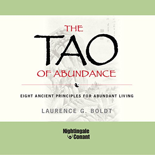 The Tao of Abundance audiobook cover art