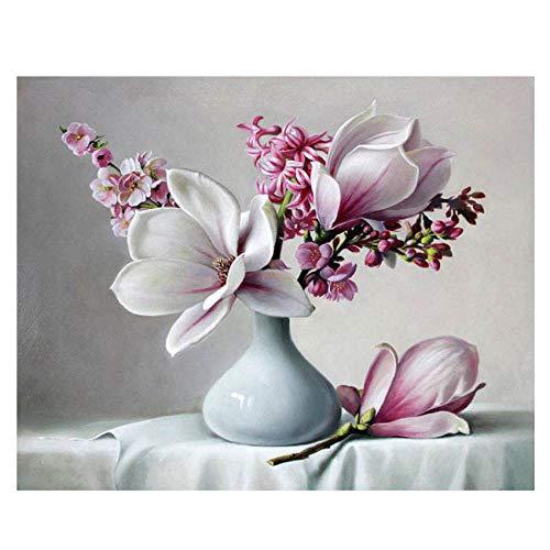 DIOPN See-schilderen op nummers, decoratie-olieverfschilderij voor woonkamer digitaal schilderij (zonder lijst) 40 * 50,50 * 60 cm) 50 * 60CM