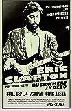 Froy Eric Clapton Wand Blechschild Retro Eisen Poster