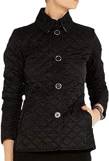Women Packable Down Quilted Jacket Button Front Lightweight Puffer Coat