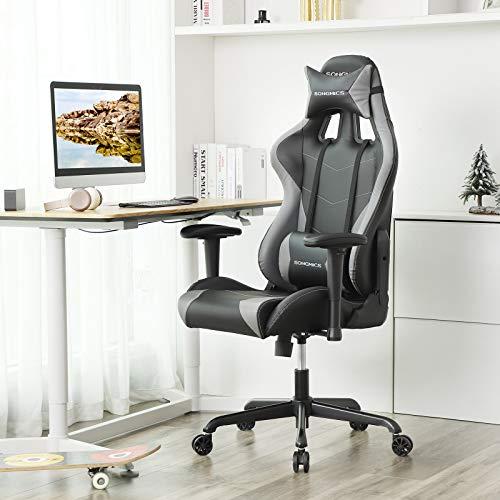 SONGMICS Gaming Stuhl 150 kg Bürostuhl Bild 4*