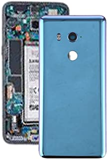 Components for replacing HTC series touch screen (Replace the old one Battery Back Cover with Camera Lens for HTC U11 Eyes(Black) (Color : Blue)