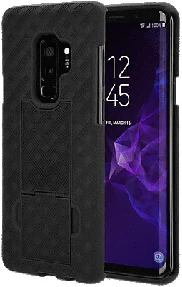 Verizon Shell and Holster for Samsung Galaxy S9+ (Plus) - Black