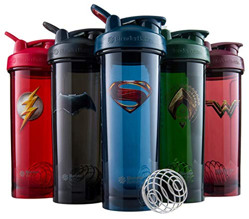 Product Image 5: BlenderBottle Justice League Shaker Bottle Pro Series Perfect for Protein Shakes and Pre Workout, 32-Ounce, Superman