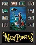 Generic Mary Poppins Film Cell Style Display 10x 8montiert 10Zellen, gerahmt, 25 x 20 cm