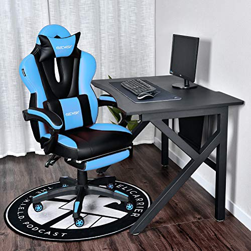 Elecwish Video Gaming Office Chair Computer Desk Chair