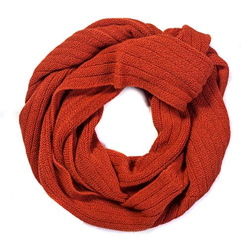 Mitos Natural Elegance wollen sjaal loop gebreide sjaal 100% alpaca wol natuur