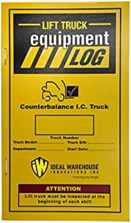 Replacement Lift Truck Log Book for Propane Counterbalance