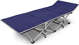 Folding Camping Bed Sun Lounger Cot Portable Bed for Camping, Traveling and Home Lounging