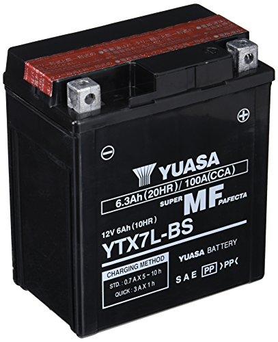 Yuasa YTX7L-BS, Batería sin Mantenimiento, 12V
