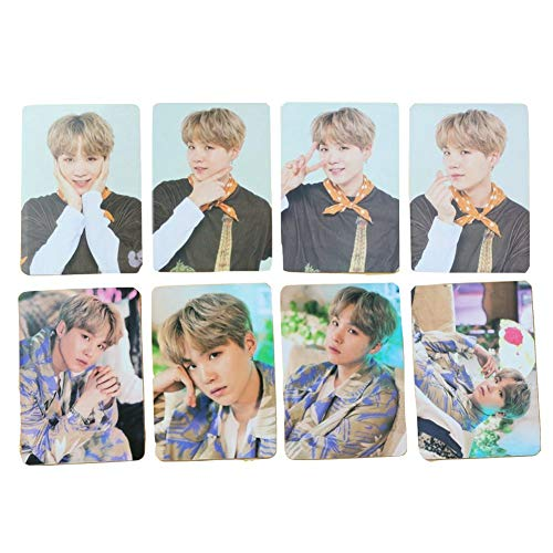 Nuofeng - Kpop bangtan boys 5th Muster MAGIC SHOP Official Mini Photocards Lomo Card World Card Sticker Transparent Paper Postcard Set Gift for A.R.M.Y(H07-8PCS)