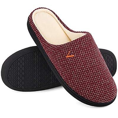 Women's Slip On Slippers Two-Tone Memory Fo...
