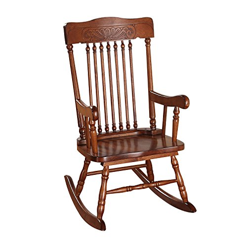 ACME Furniture 59218 Kloris Youth Rocking Chair, Tobacco