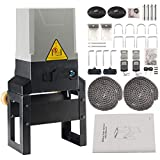 GUAILAO Automatic Sliding Gate Opener - Sliding Gate Motor - Driveway Gate Opener Kit with Remote and Safety Sensor for Roller Slide Up to 3300LBS