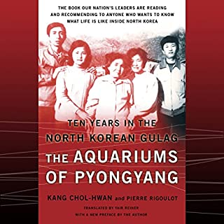 The Aquariums of Pyongyang audiobook cover art