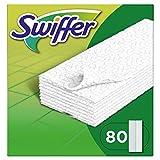 Swiffer Bodenwischer Nachfüllpack 80 Tücher, nimmt 3x mehr Staub & Haare auf und schließt diese ein im Vgl. zu einem herkömmlichen Besen