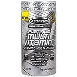 Muscletech エッセンシャルシリーズ、プラチナマルチビタミン Essential series, platinum multivitamin [並行輸入品]