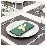 Ikea Tovagliolo di Carta, Verde Scuro, 40x40 cm 50 pz