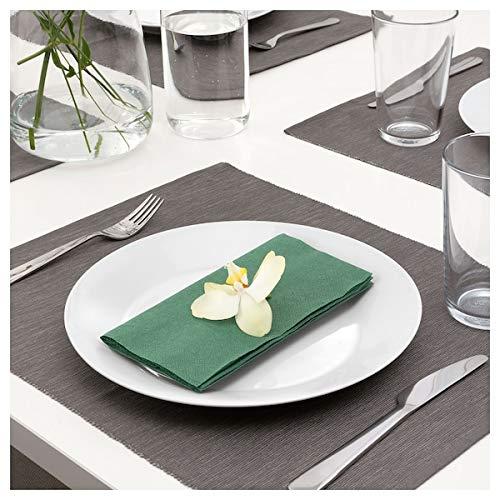 Ikea Papierserviette dunkelgrün 40x40 cm 50 Stück