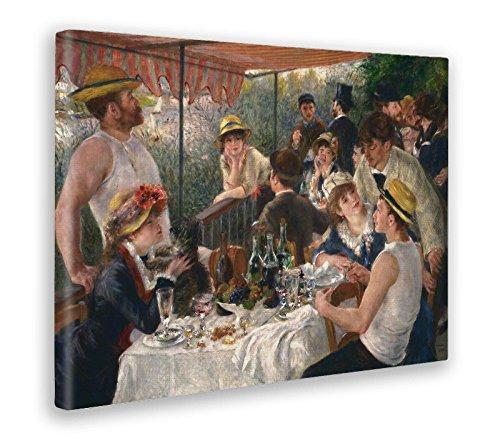 Giallobus - Bild - Druck AUF LEINWAND - Renoir - Mittagessen DER BOOTSPARTEI - 70 x 100 cm